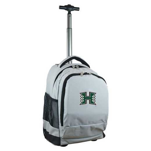 CLHIL780-GY: NCAA Hawaii Warriors Wheeled Premium Backpack